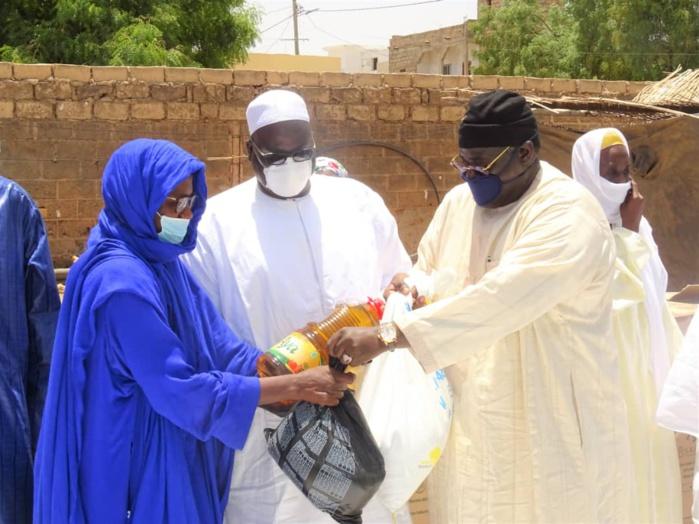 ( IMAGES) Serigne Bassirou Mbackè Khadim Awa Bâ récidive avec 35 tonnes 600 bouteilles d'huile