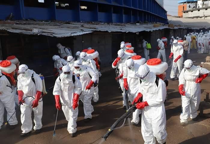 COVID-19 : La Guinée Conakry, pays le plus touché en Afrique de l'Ouest.