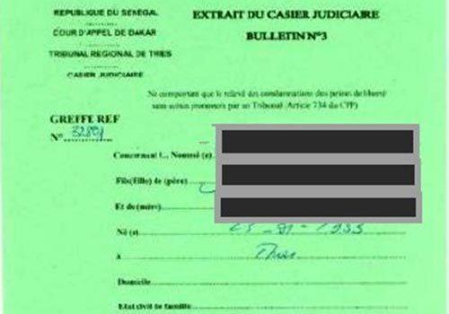 Délivrance de casier judiciaire à domicile: le ministère de la justice se démarque du site « samacasierjudiciaire.com »