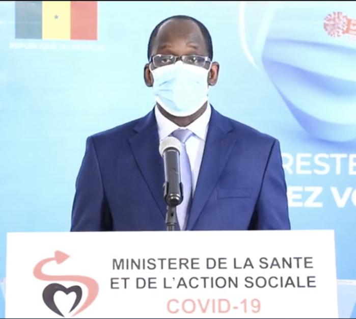SÉNÉGAL : La déclaration du ministre de la Santé et de l'Action Sociale après 2 mois de lutte contre le COVID-19.