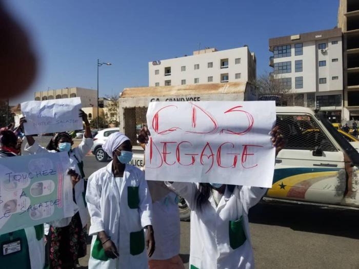 Samu Municipal : Manifestation des agents pour réclamer l'intégralité de leurs salaires.