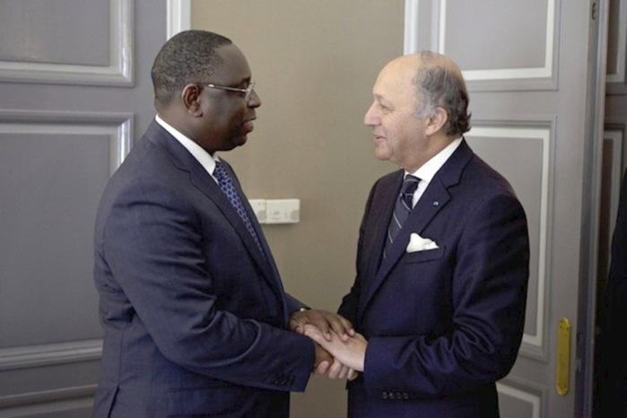 La stratégie de la France exposée à Macky Sall par Laurent Fabius
