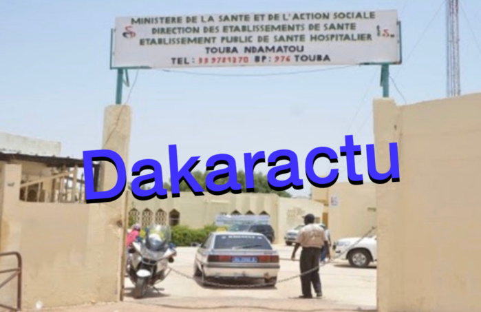 NDAMATOU À TOUBA / 8 membres du personnel soignant infectés... 5 patients malades détectés... une fillette contaminée par ricochet.