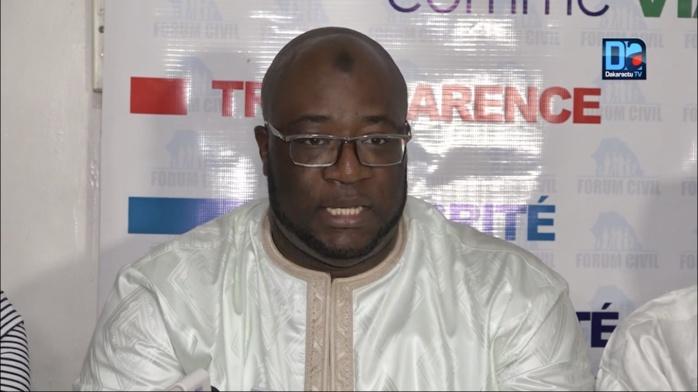 """Birahim Seck, Forum Civil : """"L'artemisia, le protocole du Prof Ndiaye et la fausse dualité ministérielle entretenue"""""""