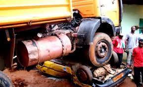 Accident sur la route de Kaffrine: le comble de l'horreur.