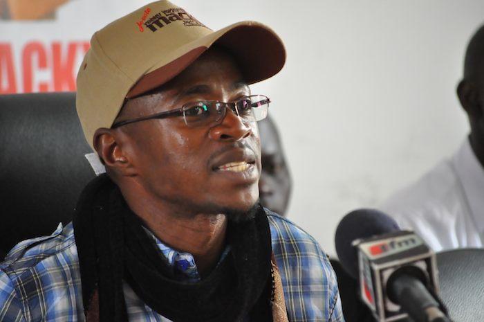 Portrait de la semaine.  Nom: Abdou Mbow, Signe distinctif: Flibustier combatif.