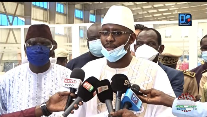 Moustapha Diop après avoir remis 500.000 masques barrières au ministre de l'intérieur : «Nous allons faire de même avec le ministre de l'Education nationale»
