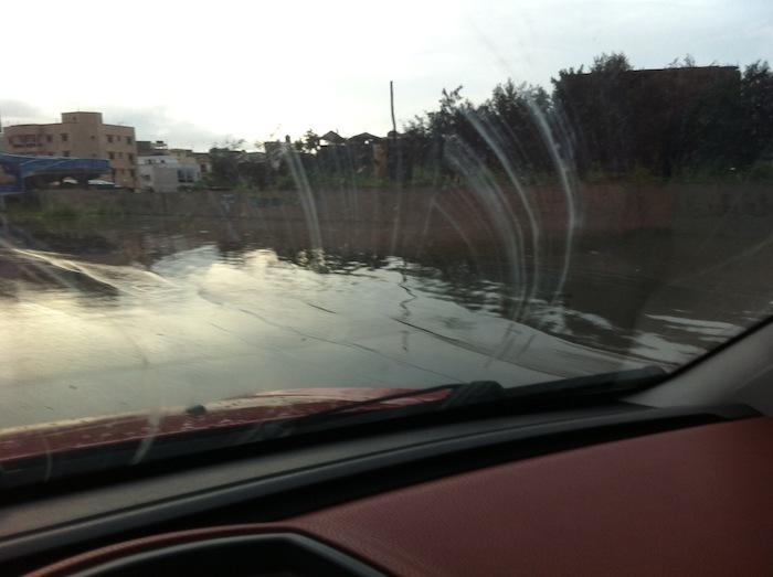 Dakar : Inondation de l'autoroute à péage (PHOTOS)