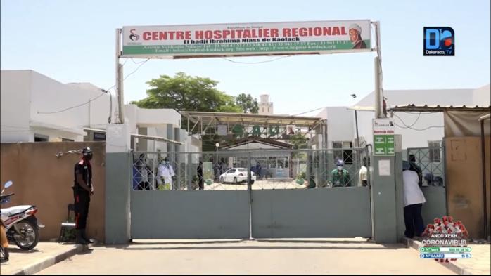 Hôpital régional de Kaolack : Parmi les 18 patients de Sédhiou, 5 sont déclarés guéris.
