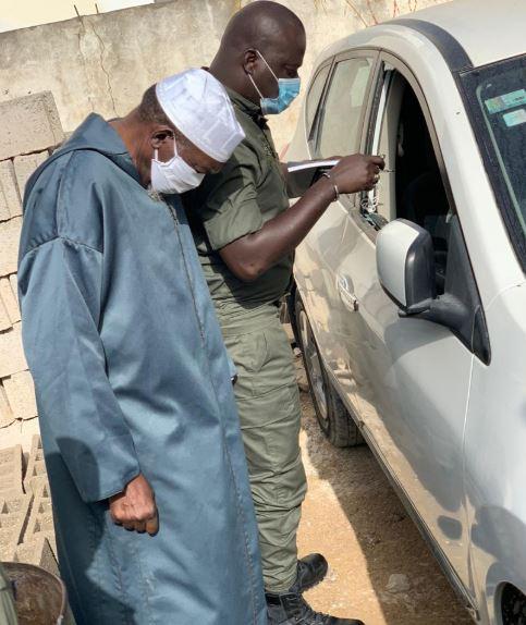 Ouakam : La voiture de l'imam de la mosquée de la divinité vandalisée