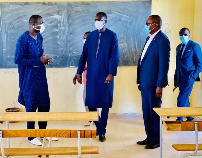 EDUCATION / RÉOUVERTURE DES CLASSES D'EXAMENS : 10.000 remis à la région de Fatick.