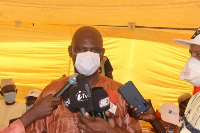 """Mansour Faye : """"La transparence a prévalu dans le choix des bénéficiaires de l'aide alimentaire"""""""