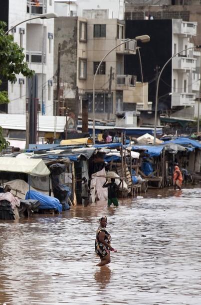 Dakar enregistre 156 mm de pluie.