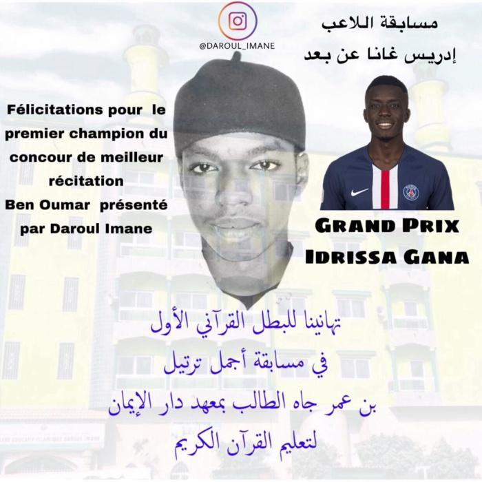 Récital Coran : Idrissa Gana Guèye offre un billet pour la Mecque et 1,5 million aux vainqueurs