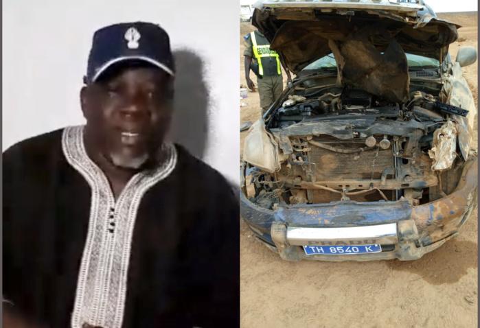 RANÉROU / Le véhicule de Mamadou Ndoye Bane fait quatre tonneaux. Et pourtant...