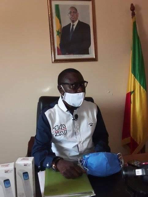 Covid-19 à Bignona / Les écoles désinfectées, le président du Conseil départemental rassure les parents d'élèves.