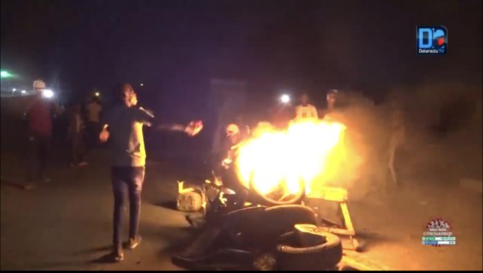 Kaolack : Des manifestations contre le couvre-feu en cours à Passoire et Touba Ndorong (Peñc-ma).