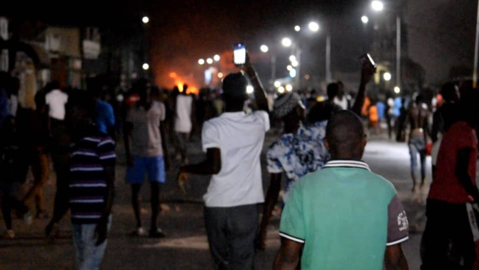 Kaolack : Les manifestations s'intensifient...Plusieurs quartiers touchés.