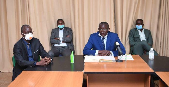 Football / Réunion comité d'urgence de la FSF : Vers une reprise des championnats avant novembre, le chantier du stade Demba Diop en bonne voie...