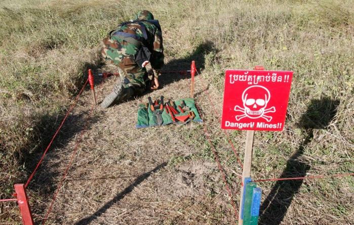 Opération de sécurisation en Casamance : Un soldat saute sur une mine.