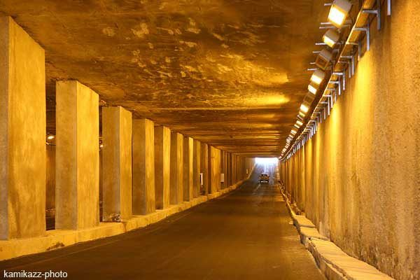 Le tunnel de Soumbédioune submergé par les eaux