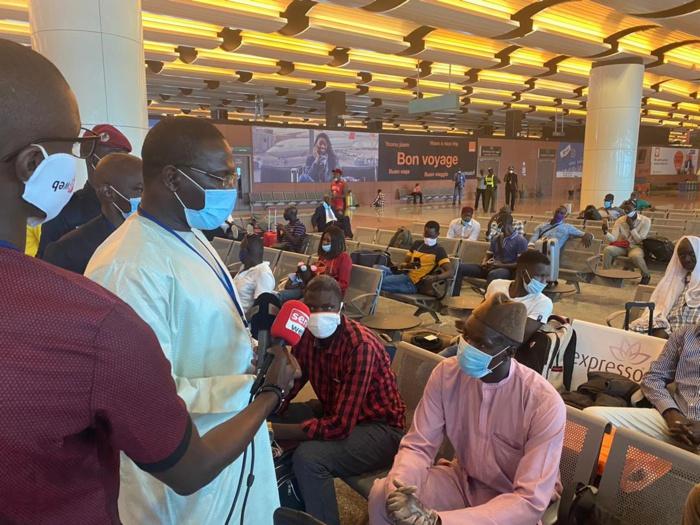 AIBD : Retour vers l'Italie des Sénégalais bloqués au pays depuis le début de la Covid-19