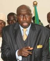 Déclaration de politique générale: Abdoulaye Makhtar Diop hué.
