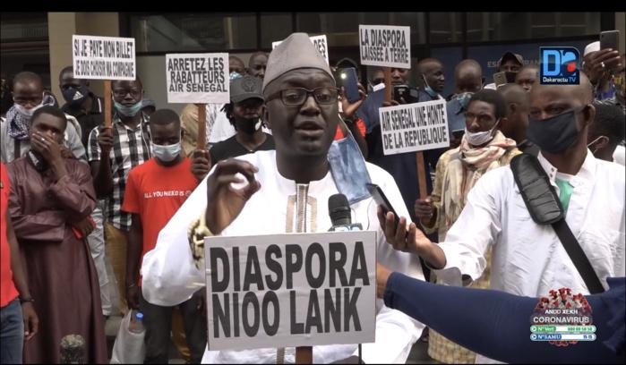 Emigrés bloqués à Dakar / Le collectif « Diaspora Gno Lank » se rebelle et exige une résolution définitive de sa situation