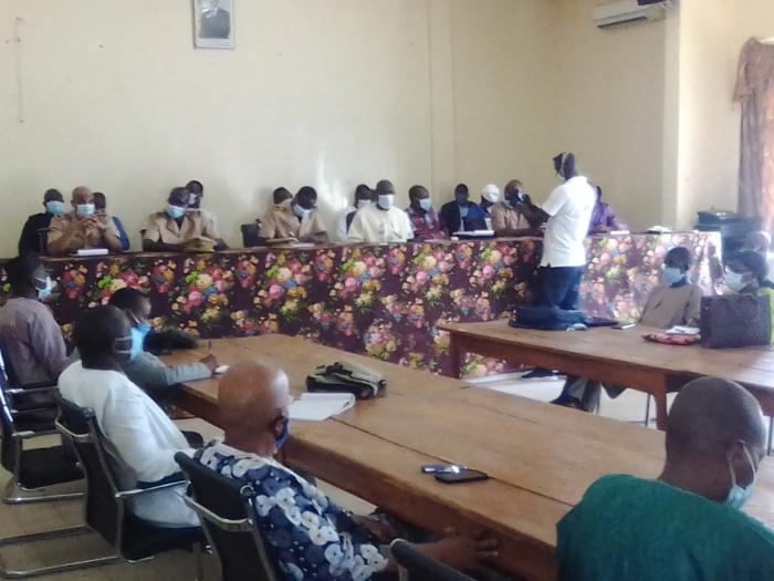 CRD sur la reprise des cours : Le MEN Mamadou Talla, satisfait des dispositions prises à Kolda.