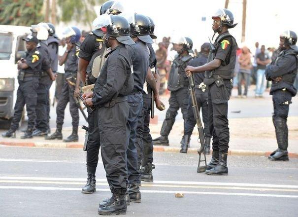 Opération policière à Seras