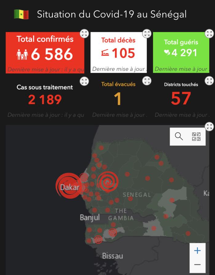 Covid-19 : Ces localités jusque-là épargnées par la pandémie qui devraient redoubler de vigilance.