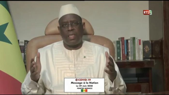 Covid-19 au Sénégal / Le président de la République en chiffres et en pourcentage.