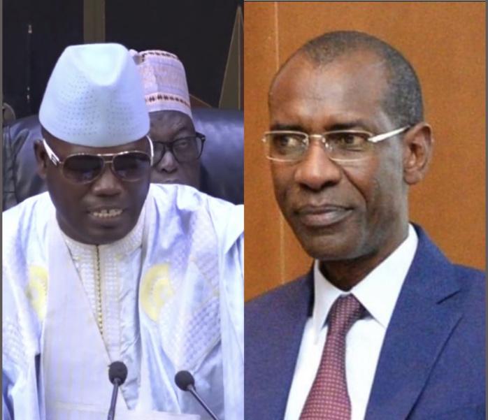 Orientation Budgétaire / Quand Cheikh Abdou Bara Dolly adoube Abdoulaye Daouda Diallo.
