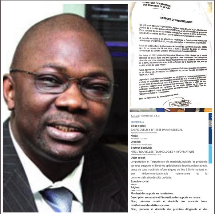 Sindia / Meïssa « copie » Babacar Ngom : l'histoire des 90 ha à « Nova Tech» informatique pour usage agricole…