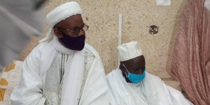 Présentation de condoléances : Les foyers religieux du pays à Médina Baye.
