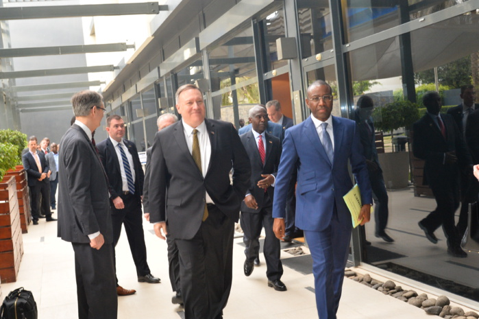 Dette des pays vulnérables : Macky Sall s'est entretenu avec le Secrétaire d'État américain Mike Pompeo.