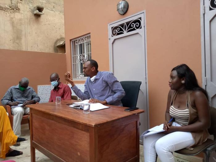 """Thiès : La jeunesse de """"And Suxxali Sénégal ak Habib Niang"""" réitère son engagement auprès du Président Macky Sall."""