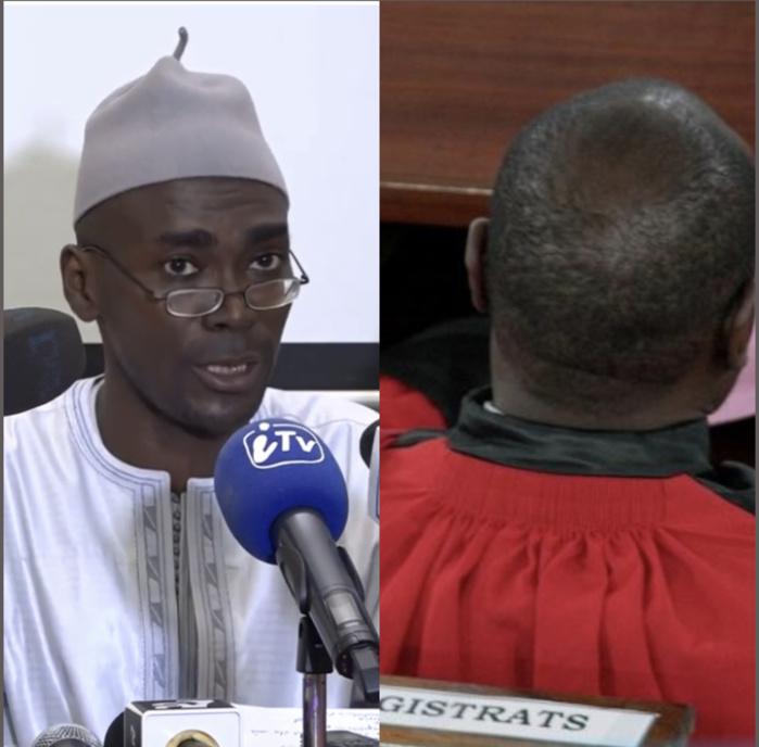 Le Juge Ousmane Kane à Me Ayé Boun Malick Diop : «Si depuis 09 ans et quelques mois, il n'a pas occupé ses fonctions au niveau du tribunal de grande instance de Fatick... Notre devoir c'est de le rappeler à ses obligations...»