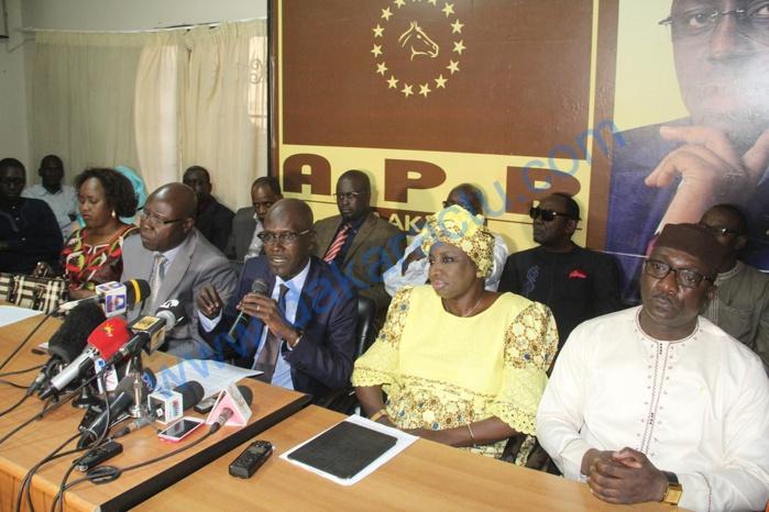 Rapport Ige / Le secrétariat national de l'Apr accuse l'opposition de vouloir détourner l'opinion publique.