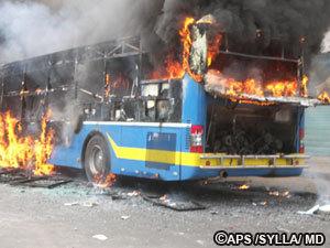 Dernière minute : dégradations sur un autre bus DDD.