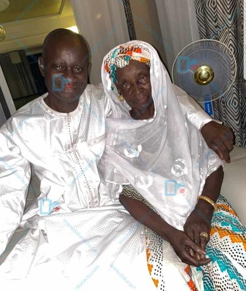 Après sa libération : Le PDG Mamadou Diop ISEG rend visite à sa maman
