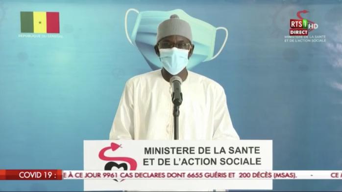 SÉNÉGAL : 156 nouveaux cas testés positifs au coronavirus, 64 nouveaux guéris, 2 nouveaux décès et 28 cas graves en réanimation.