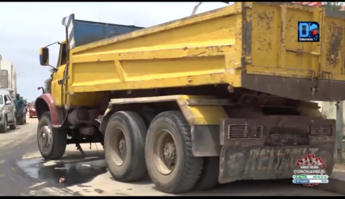 Accident de la circulation à Yoff : Le chauffeur du camion condamné à 6 mois ferme.