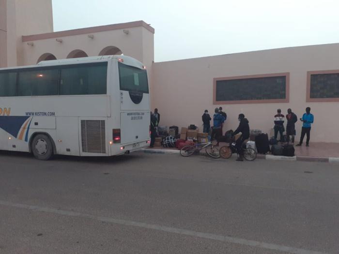 Casablanca : La situation des chauffeurs sénégalais bloqués au Maroc s'est débloquée.