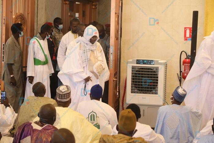 Sermon de la mosquée Massalikoul Djinane :  Pour l'imam Serigne Moustapha Mbacké Abdou Khadre le coronavirus est une punition divine contre ceux qui vivent dans le péché.