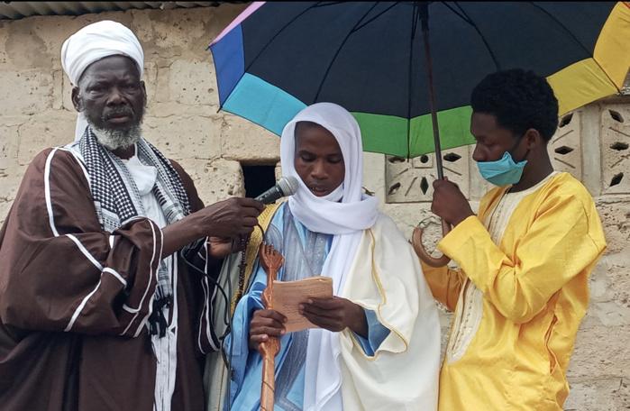 Tabaski 2020/Lyndiane Jardin : L'imam Ratib Thierno Samba Ba prêche pour le renforcement de la qualité de l'enseignement destiné à la jeunesse.