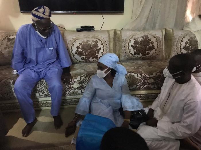 Présentation de condoléances : Maître Nafissatou Diop Cissé à Médina Baye (images).
