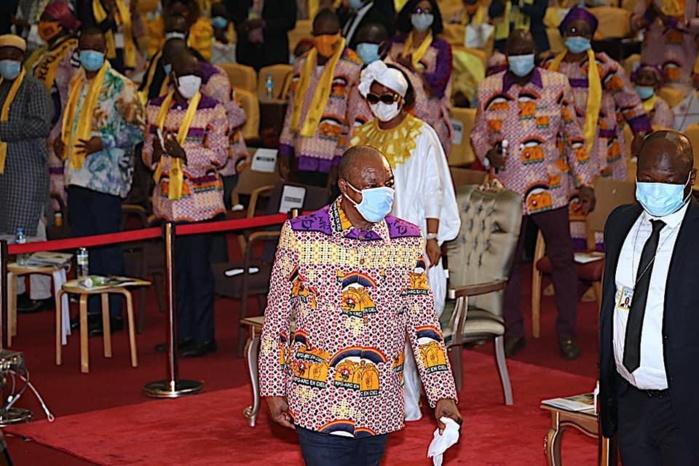 Présidentielle en Guinée : Le RPG désigne Alpha Condé comme candidat pour un 3e mandat.
