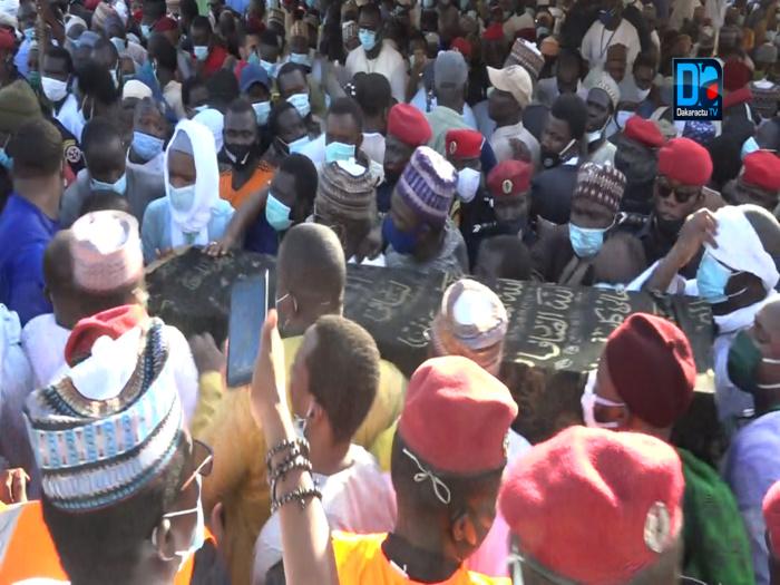 Médina Baye : Revivez en images la cérémonie funéraire.