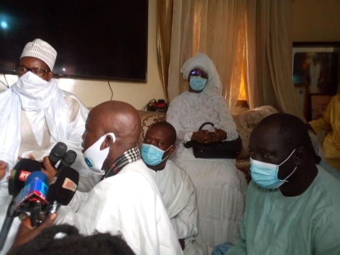 Présentation de condoléances : Serigne Bassirou Mbacké Abdou Khadre à Médina Baye.